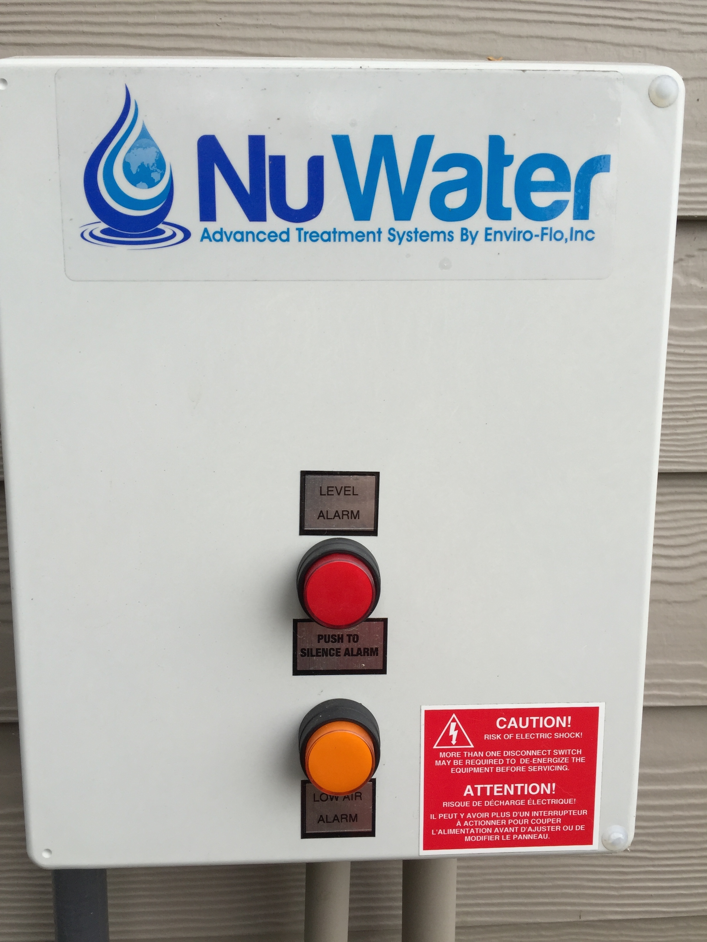 outside Nuwater panel